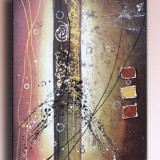 Tablou Abstact 16 - ulei/panza pe sasiu  - Gata de agatat pe perete -