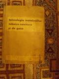 TEHNOLOGIA INSTALATIILOR TEHNICO-SANITARE SI DE GAZE