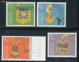 RFL Elvetia 1982 serie nestampilata Pro Patria - bijuterii
