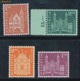 RFL Elvetia 1963 serie nestampilata uzuale Arhitectura nominal 7.80 S. Fr.