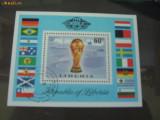Colita timbre c. m fotbal liberia