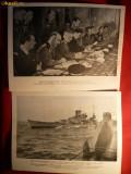 2 FOTOGRAFII de PROPAGANDA MILITARA GERMANA