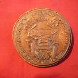 Placheta -Fac. de Mecanica din Univ.Brasov -1988- Miercurea Ciuc - Medalii Romania