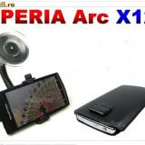 Suport parbriz Sony Ericsson Xperia X12 (auto masina) + husa - Suport auto
