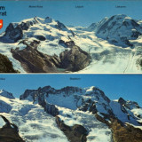 Ilustrata imagini din Elvetia, vedere de la Gornengrat
