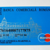 ROMANIA CARD BCR DE COLECTIE **