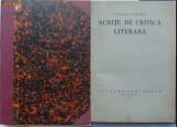 Ilarie Chendi , Schite de critica literara , 1924 , prima editie