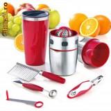 Storcator pentru Fructe si Legume Pro V Juicer + Pro V DecoSet