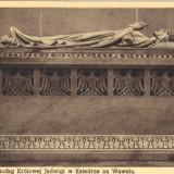 Ilustrata - Cracovia, sarcofagul reginei Jadwiga din catedrala Wawel