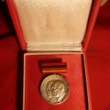 Medalie argint - luptele contra fascismului '33-'45 --1959- DDR