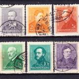 Timbre Ungaria 1932-37 Personalitati