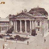 Ok-920- Romania, Nagyvarad, Oradea, c.p. circulata 1912: Teatrul, animat