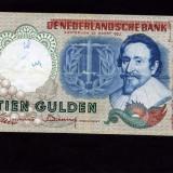 Olanda 10 gulden 23 martie 1953 XF