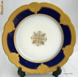 MAGNIFIC  si   RAR   platou decorativ LIMOGES ~~anul 1905~~