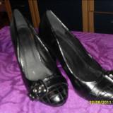 Pantofi negri nr 37 - Pantof dama, Fuchsia, Marime: 36