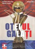 Carte fotbal Otelul Galati Campioana Romaniei cu autograf
