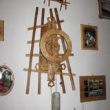 Ceas din lemn unicat !