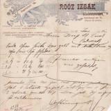 Cluj - factura veche,  iudaica