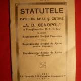 CFR IASI - REGULAMENTE PT. FUNCTIONARI - 1931