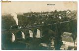 1965 - Caras - Severin - ORAVITA, Viaductul de cale ferata si locomotiva - Old P.C.- unused