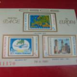 COLITA NEDANTELATA 1981 CSCE - Timbre Romania