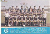 calendar-FOTBAL CLUB ,, ARGES PITESTI``-1989 tip carte postala