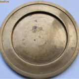 Farfurie mica (platou) veche din bronz - Metal/Fonta