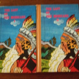 The Last of the Mohicans, 2 vol. - Carte de calatorie