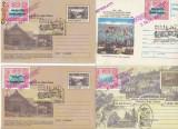 RFL 1999 Paltinis 4 plicuri intreguri postale vignete S.O.S. Hohe Rinne 75 ani, Nestampilat