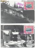 RFL 1999 ROMANIA Posta Paltinis set 2 ilustrate cu vignete S.O.S. Hohe Rinne