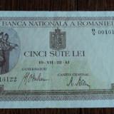 500 lei 1941 - Bancnota romaneasca