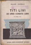 Titus Livius / AB URBE CONDITA LIBRI (text latin, editie 1944, cu ilustratii + 1 harta mare)