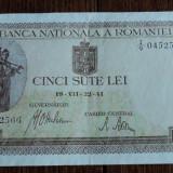 500 lei 1941 VII - 22 - Bancnota romaneasca