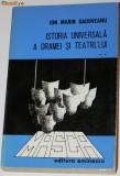 ION MARIN SADOVEANU - ISTORIA UNIVERSALA A DRAMEI SI TEATRULUI VOL 2, Ion Marin Sadoveanu