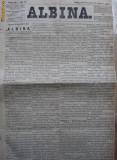 Albina , nr. 78 , 1872 , publicat la Pesta , Ungaria , in limba romana