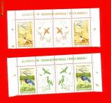 RO-82=ROMANIA 1999 Europa Rezervatii naturale Perche de 2 marci cu vigneta  MNH, Nestampilat