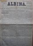 Albina , nr. 81 , 1872 , publicat la Pesta , Ungaria , in limba romana
