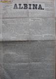 Albina , nr. 84 , 1872 , publicat la Pesta , Ungaria , in limba romana