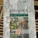 CC4 - MATEMATICA - ALL - CLASA A IX - A