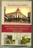 CASA SI FAMILIA CAPSA IN ROMANIA MODERNA 1852-1950, Alta editura