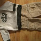 Pantalonasi si pulover Old Navy 3-6 luni.