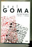SCRISURI 1972-1998- Paul Goma, Nemira