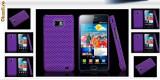 Husa mov antiradiatii samsung  galaxy s2 i9100 mesh + folie protectie ecran + expediere gratuita, Samsung Galaxy S2, Plastic, Carcasa