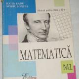 CC4 - MATEMATICA - ALL - CLASA A XI - A