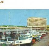 Bnk cp TULCEA - HOTEL DELTA - uzata - Carti Postale Romania dupa 1918