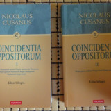 Nicolaus Cusanus Coincidentia Oppositorum ed. bilingva latina-romana 2volume - Carti bisericesti
