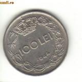 Bnk mnd romania 100 lei 1944 - Moneda Romania