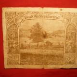 Bancnota 50 Haleri Niderosterreich, Notgeld - AUSTRIA