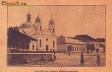 Ok-1002- Ro, Lapusul Unguresc, c.p. circ. 1925: Biserica gr.catolica, animat