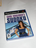 Joc Playstation 2 - PS2 - Carol Vorderman's SUDOKU - sigilat, Board games, Toate varstele, Single player, Sony